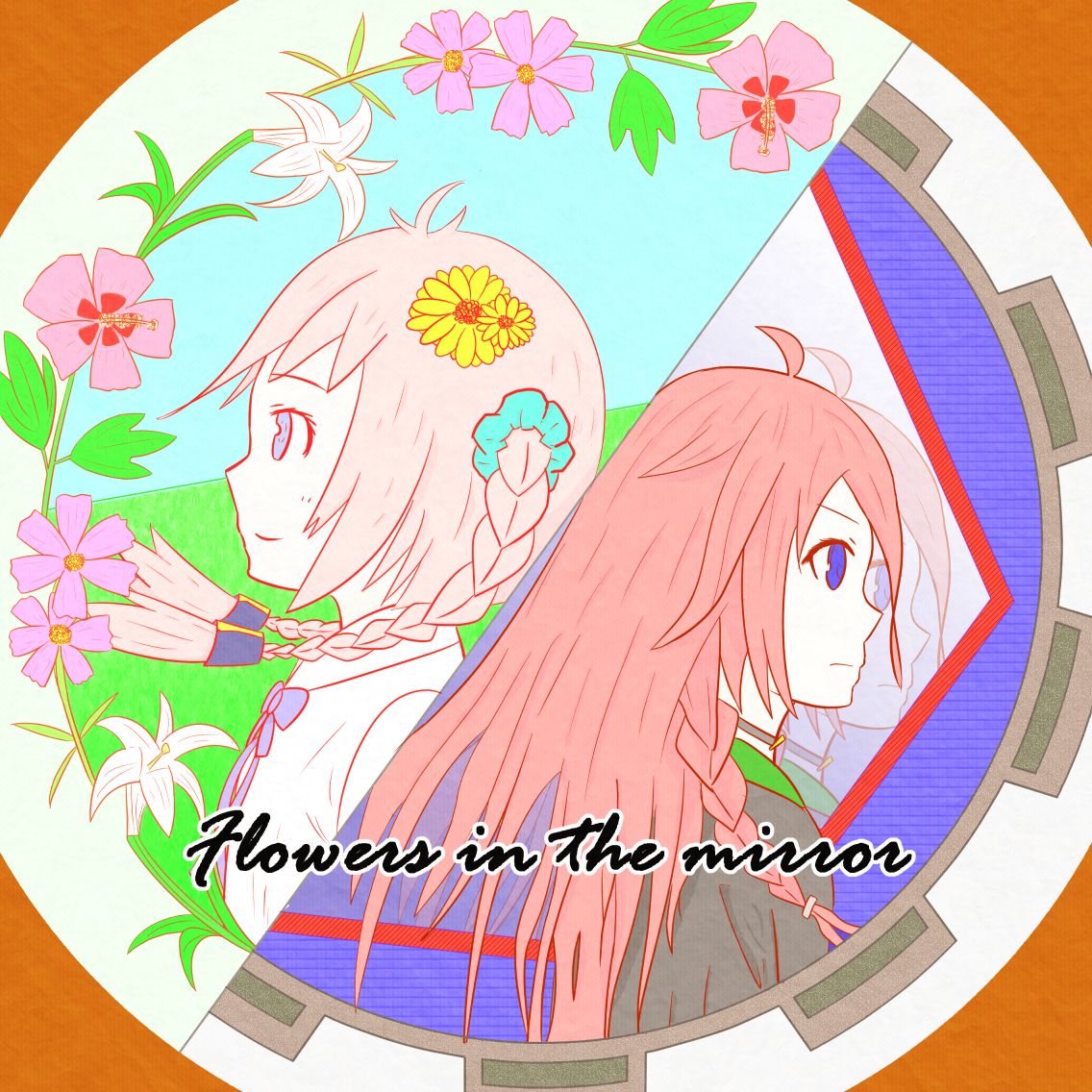 Flowers in the mirror ジャケット(v1.1)